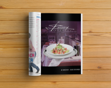 Реклама ресторана в журнале