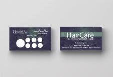 """Визитки для парикмахерской"""" Hair Care """""""