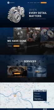 Дизайн сайта для Metmatrix