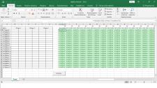 График отпусков в Excel