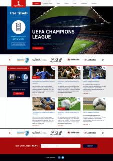 """Корпоративний сайт для """"Sportbeat"""""""