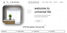 "Cайт по продаже плитки ""Universal tile"""