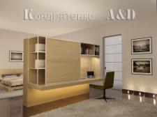 квартира,спальня