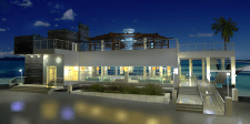 Ресторан на берегу моря