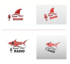 Радио Акула Логотип