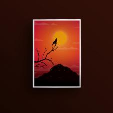 """Иллюстрация """"Sunset"""""""