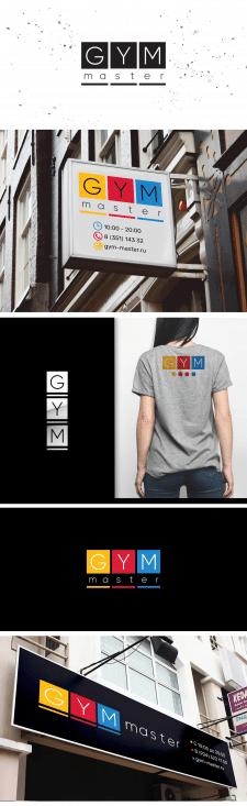 Логотип; GYM master