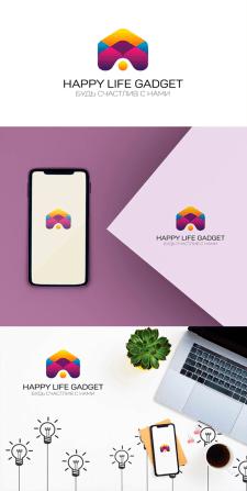 Логотип Happy Life Gadget