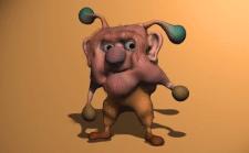 Простое моделирование персонажей, анимация