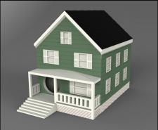 3Д модель Дом