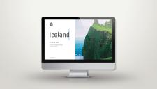 Дизайна сайта для проекта Исландия