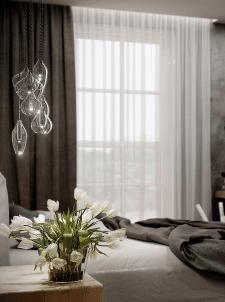 Спальня для молодой семьи