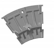 Плита короба (мельница ММС-70Х23)