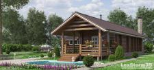 Визуализация дома по проекту заказчика