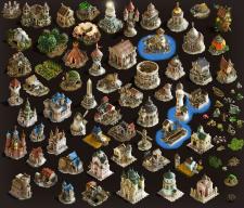 Моделирование и визуализация домиков для игры