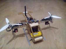 "БПЛА ""Бикоптер"" на базе Arduino"