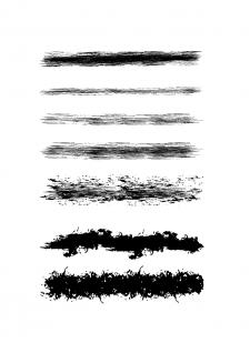 Текстурные кисти для Adobe Illustrator