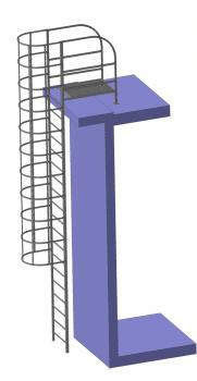 Пожарная лестница П 1,2