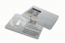 Разработка дизайна визитных карт