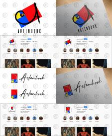 Логотип онлайн галереи