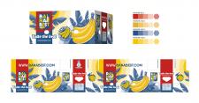 Дизайн ящика для бананов
