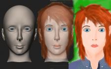 Превращения фото, рисунка в 3D модель