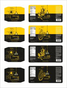 Розробка етикетки для олії