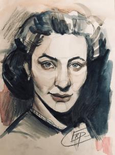 Стилизованный портрет по фото на заказ
