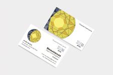 Логотип и Визитки для фирмы Селена Групп