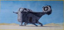 """Лезвие бритвы"" ""Razor Crest"" Mandalorian shuttle"