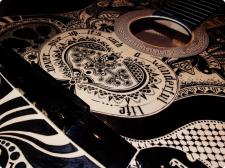 Декор гитары