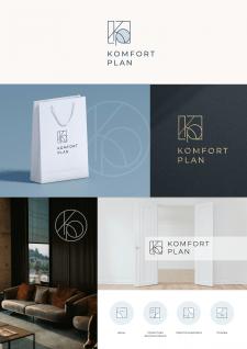 Логотип и иконки для компании Komfort Plan