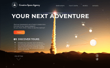 Landing Page - Creative Space Agency