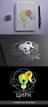 Логотип ,Запорожский государственный цирк