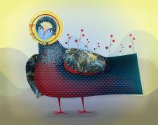 Мифическая птица 2