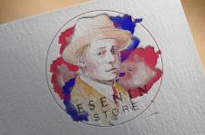 Логотип для литературного магазина Esenin