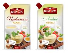 Дизайн упаковки для серии соусов