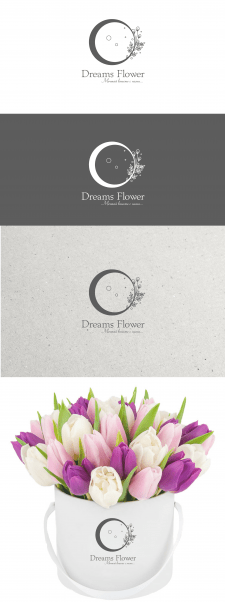 Логотип студии цветов