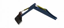 Підвіска ковша екскаватора
