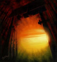 Пейзаж, фантазия