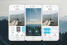Дизайн мобильного приложения PICFLIX