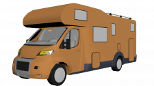 Low Poly Camper