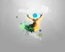Deer Abstraction
