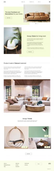 Магазин мебели и декораций для дома