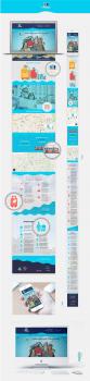 #Дизайн адаптивного Landing Page#камери зберігання