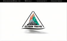 "Визитка "" Extrim Travel"""