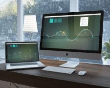 Дизайн для веб приложения