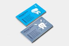 Дизайн визитной карточки Стоматологического центра