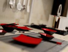 Элементы интерьера кухни