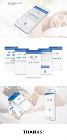Alarm Clock App White